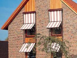 Fallarm - Markisen Fassaden - Markise Nova Hüppe