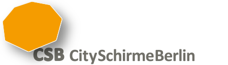 CitySchirmeBerlin Logo Berlin Schirme Markisen Jalousien Insektenschutz Vordächer
