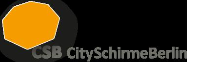 CitySchirmeBerlin Logo Berlin Schirme Markisen Jalousien Insektenschutz Raffstore Jalousien Aussenjalousien